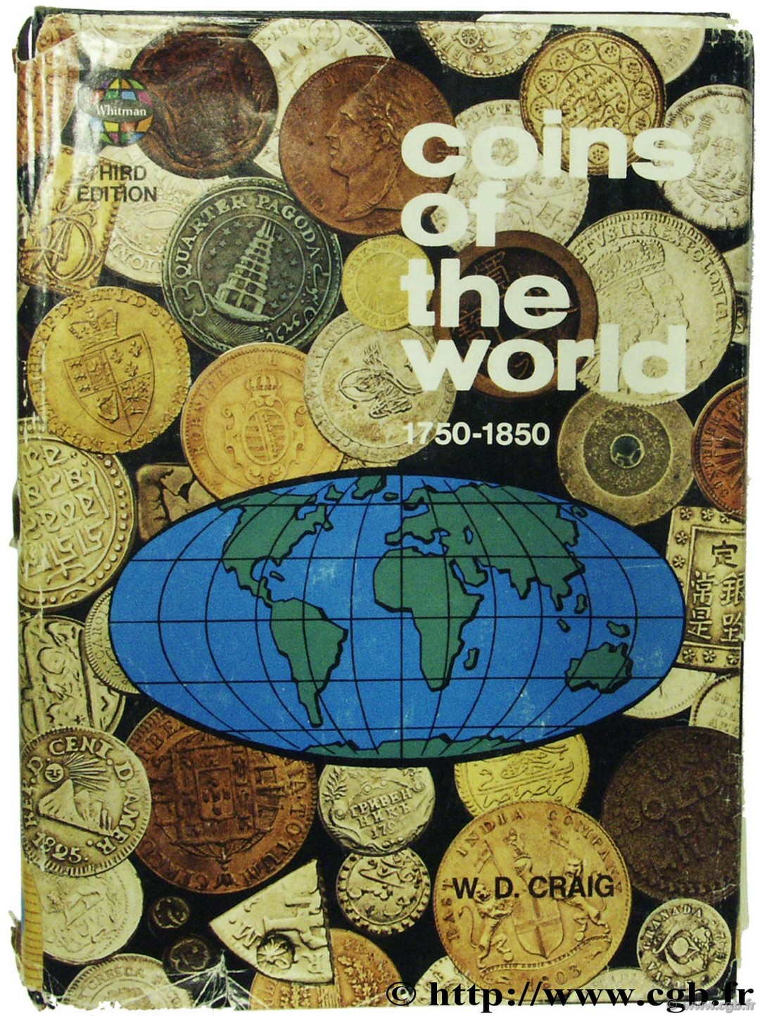 Coins of the world 1750-1850 3rd edition CRAIG W.-D.