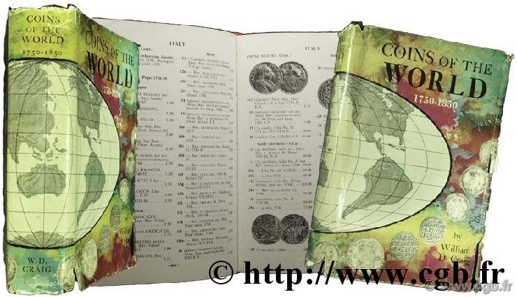Coins of the world 1750-1850 - 1st edition CRAIG W.-D.