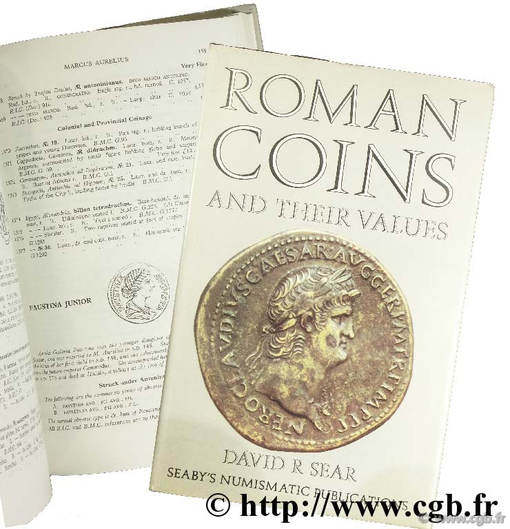 Roman coins and their values Revised Edition, 1970 SEAR D.-R.
