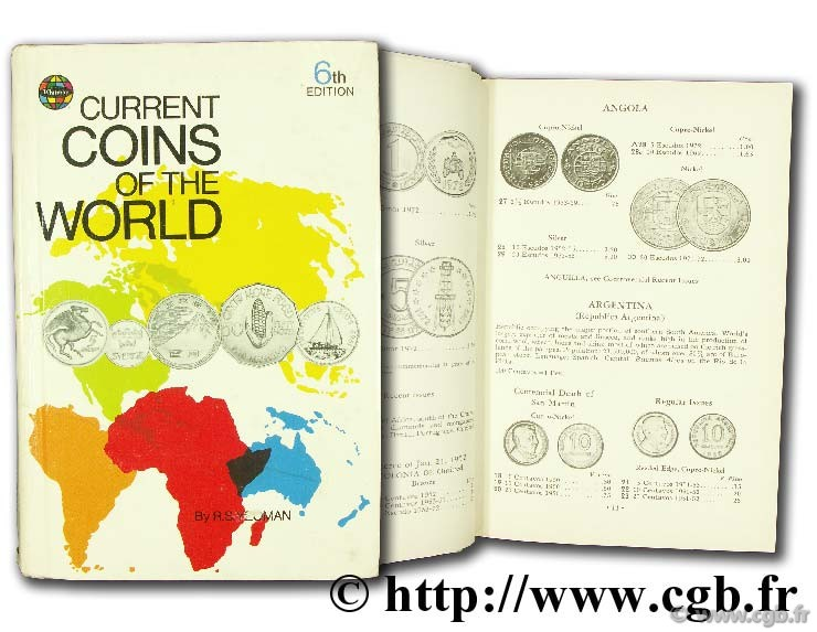 Current Coins of the World - 6th edition YEOMAN R.-S.