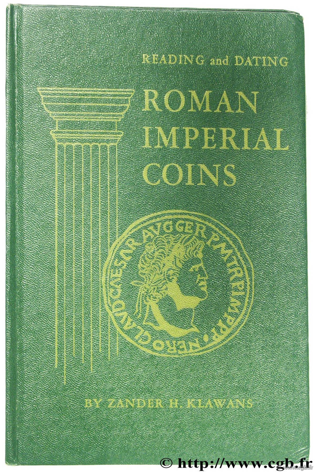 Roman Imperial Coins fourth edition KLAWANS Z.-H.
