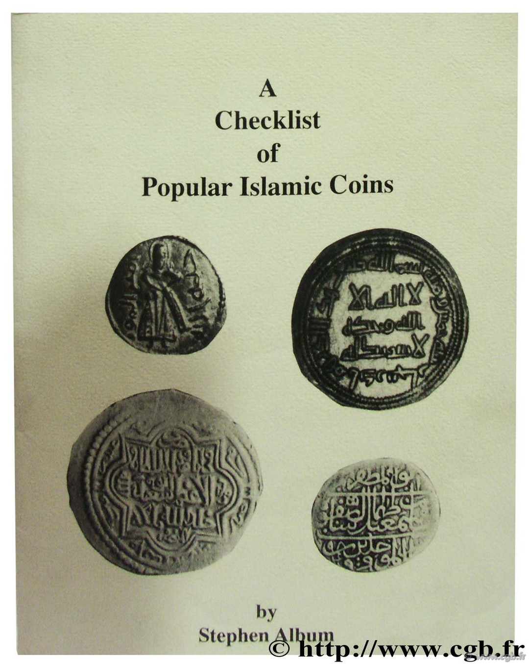 A Checklist of Islamic Coins ALBUM S.