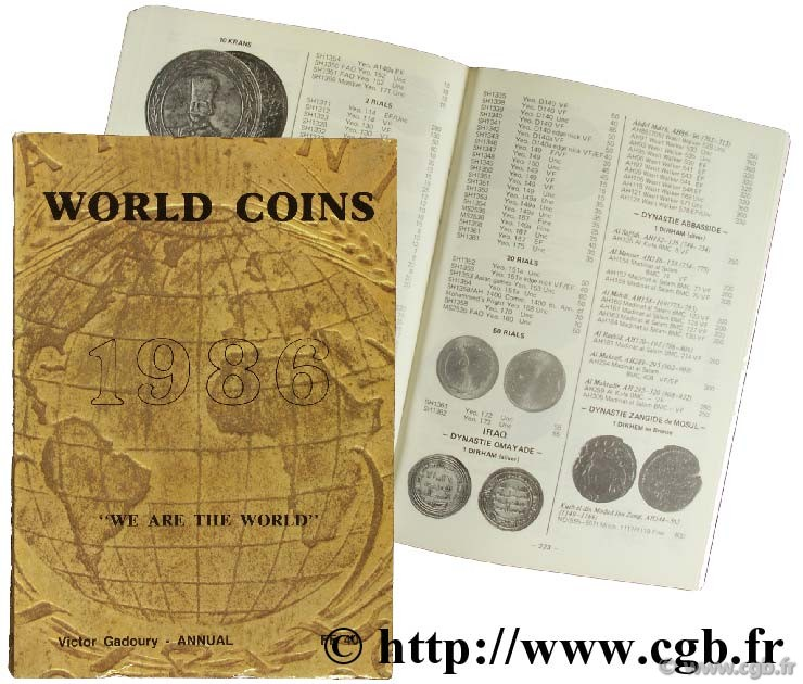 World Coins 1986 GADOURY V.