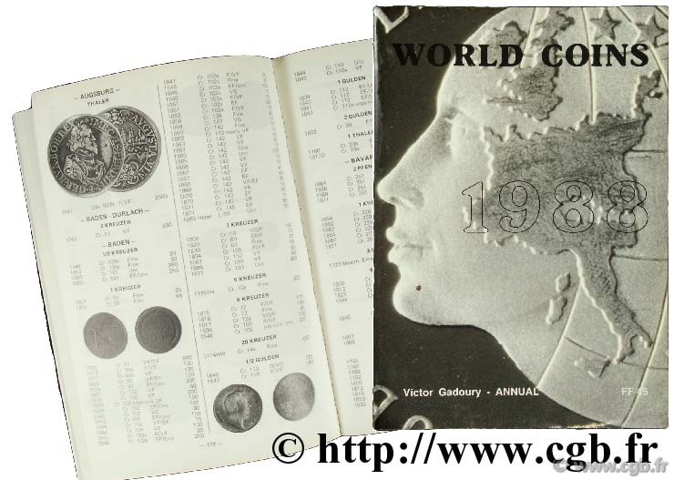 World Coins 1988 GADOURY V.