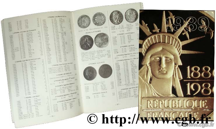 World Coins 1989 GADOURY V.