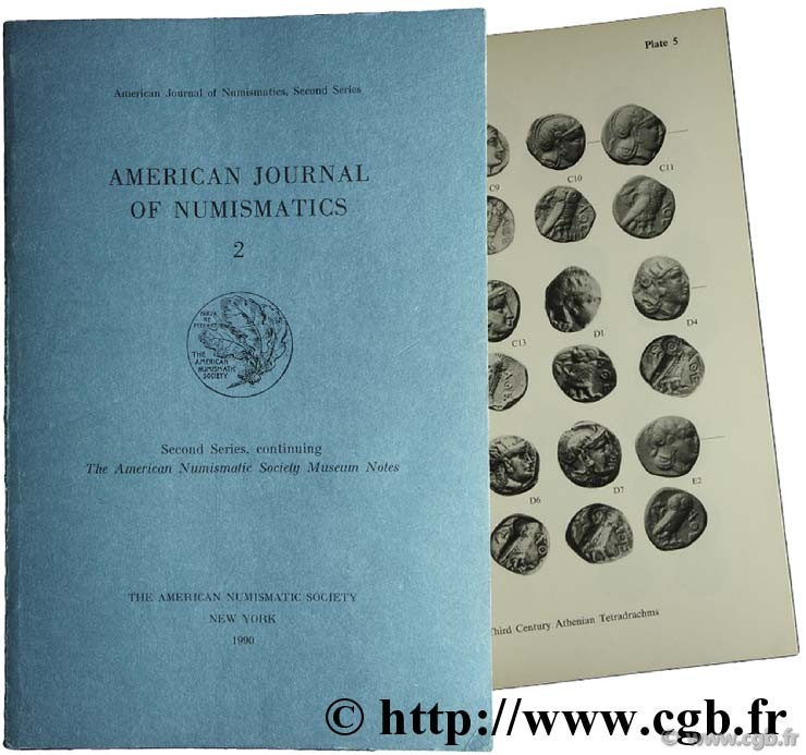 American journal of numismatics 2, second Séries, The American Numismatic Society