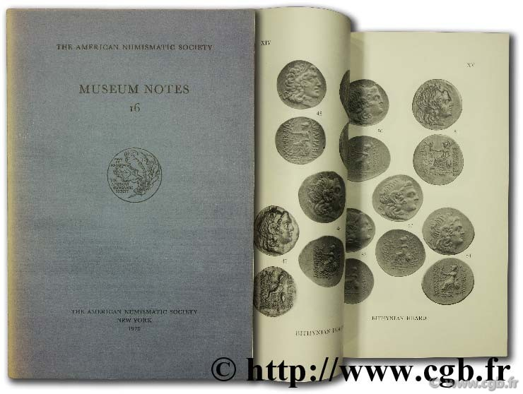 Museum notes 16 - the american numismatic society