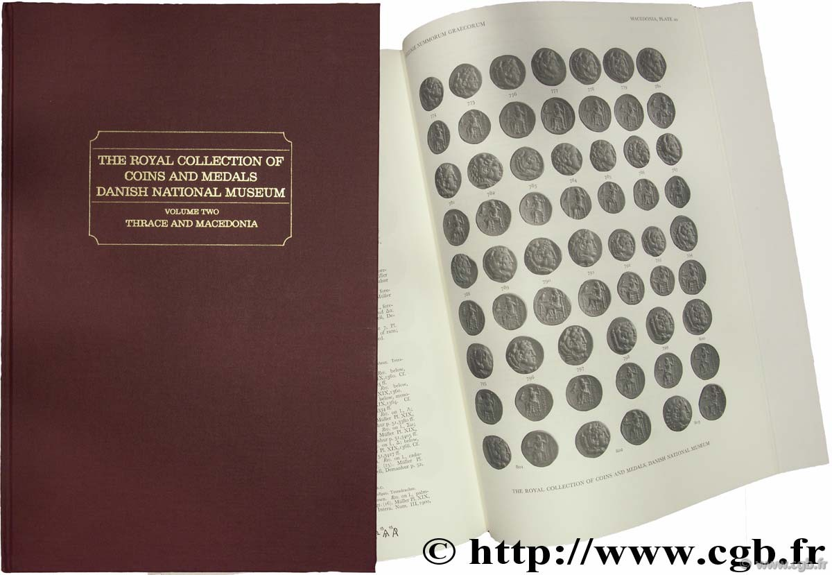 Sylloge Nummorum Græocorum, The Royal Collection of Coins and Medals, Danish National Museum, vol two, Thrace and Macedonia