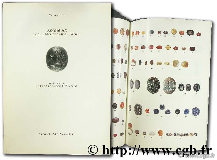 Ancient art of the mediterranean world catalogue n°5 MYERS R.-J.