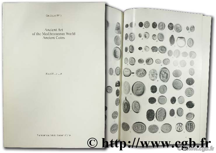 Ancient art of the mediterranean world ancient coins catalogue n°6 MYERS R.-J.