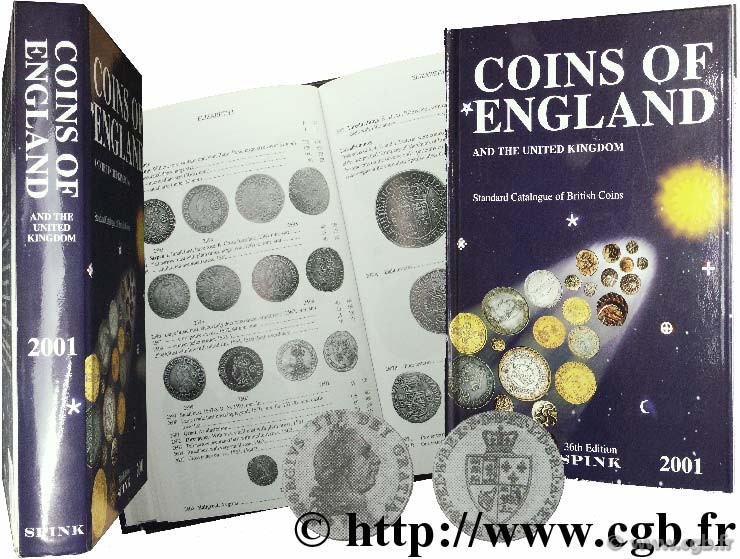 Coins of England and the United Kingdom, 36ème édition SEABY H.-A., SEABY P.-J.
