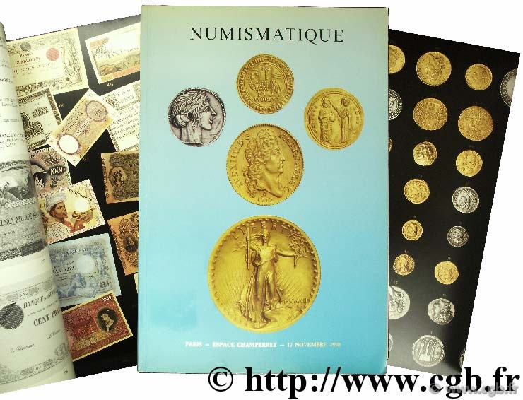 Numismatique - monnaies de collection en or et en argent appartenant à divers amateurs 1990 VINCHON J.