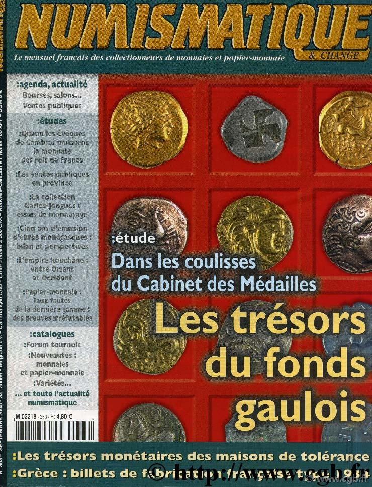 Numismatique & Change n°363 - Septembre - 2005 NUMISMATIQUE ET CHANGE