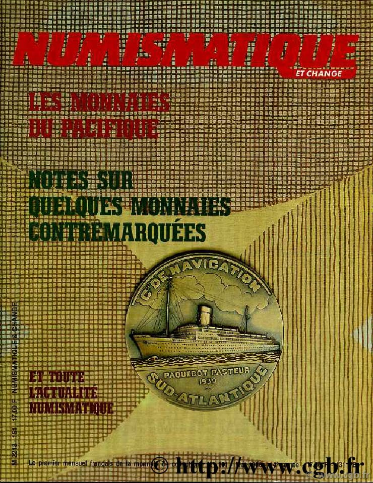 Numismatique & Change n°151 - mai 1986 NUMISMATIQUE ET CHANGE