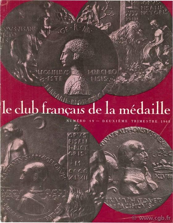 Le club français de la médaille, n°19, 1968 Collectif
