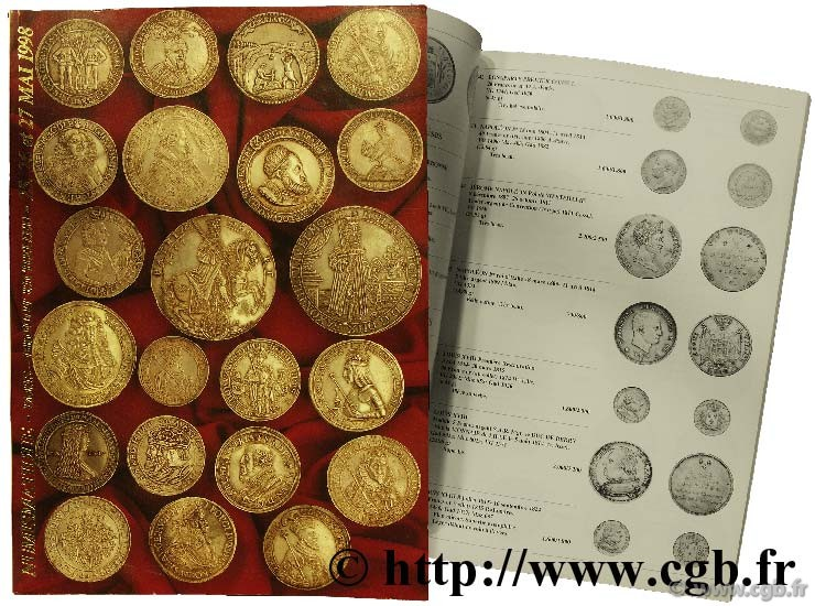 Numismatique, monnaies de collection VINCHON J.