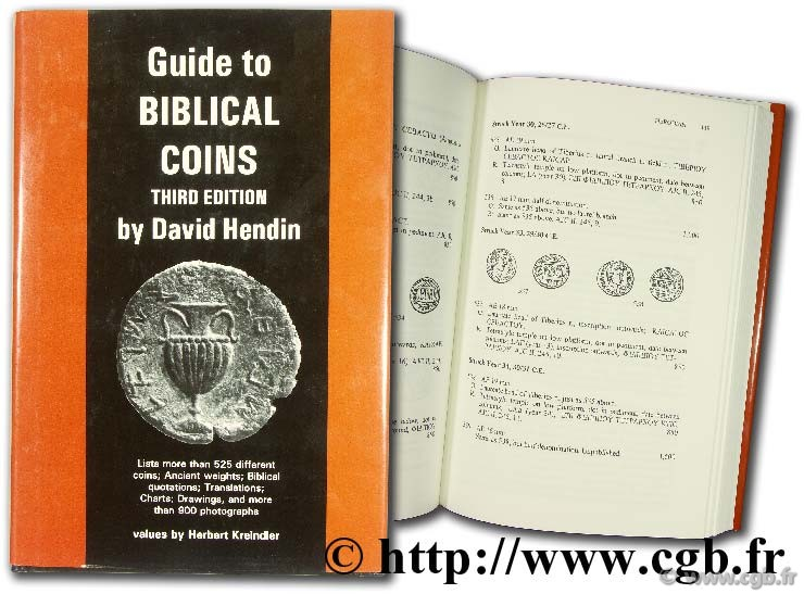 Guide to biblical coins  HENDIN D.