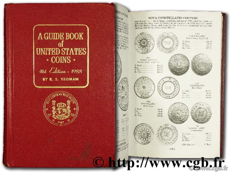 A guide book of United States coins - 1988 YEOMAN B.-R.