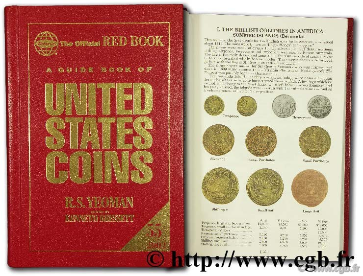 A guide book of United States coins, 2002 YEOMAN B.-R.