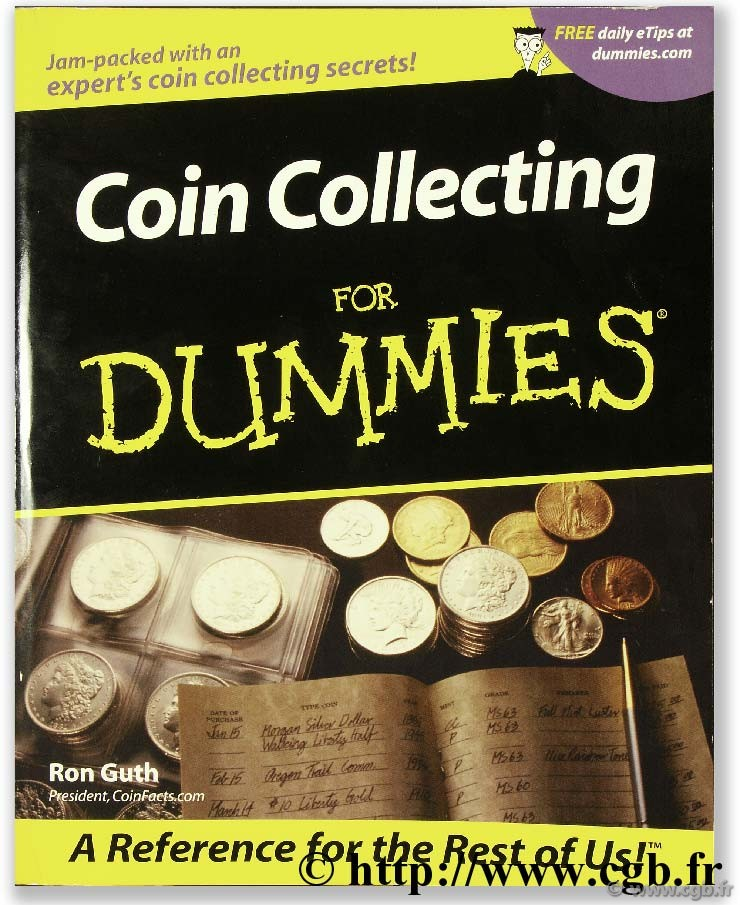 Coin collecting for dummies GUTH R.