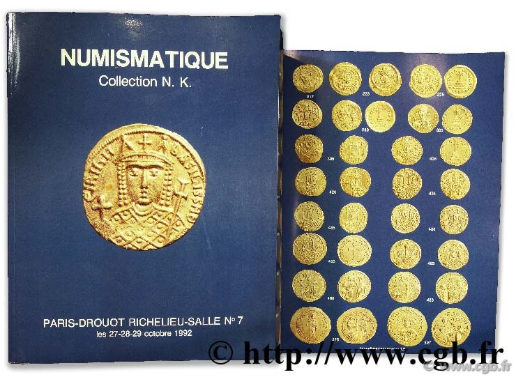 Numismatique, collection N.K. BOURGEY É.
