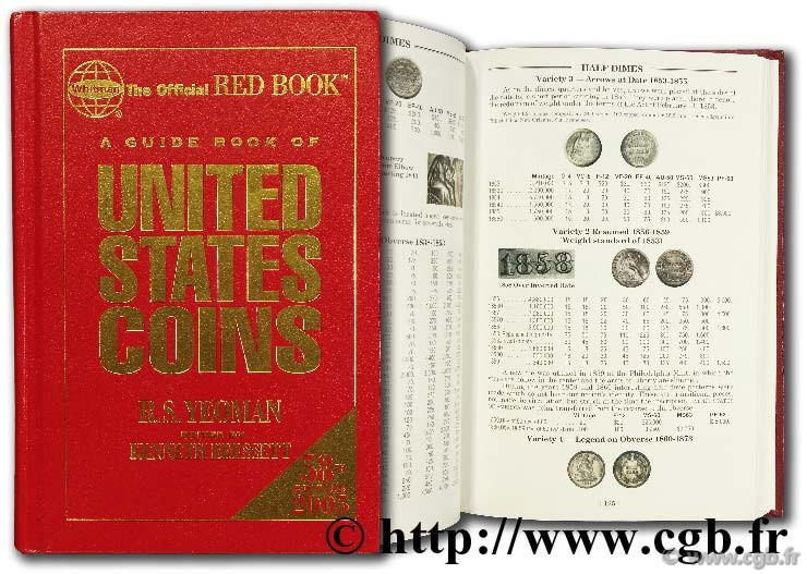 A guide book of United States coins,  YEOMAN B.-R.