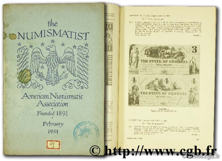 The Numismatist, february 1951, vol. 64, n°2 Collectif