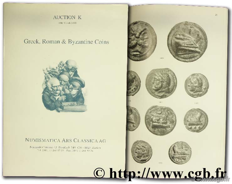 Auction 1, 30th march 2000, Greek, Roman & Byzantine Coins  NUMISMATICA ARS CLASSICA AG