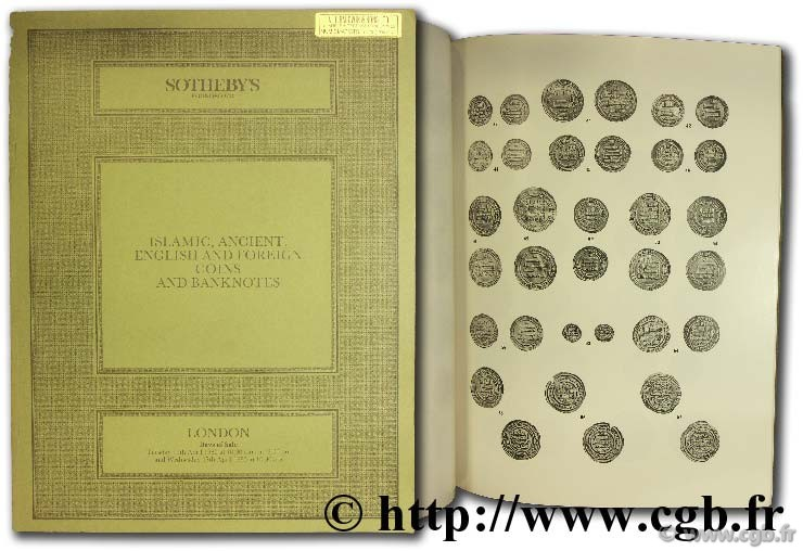 Islamic ancient english and foreign coins and banknotes SOTHEBY S