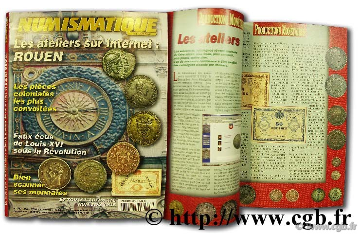 Numismatique et change n°347, mars 2004 NUMISMATIQUE ET CHANGE