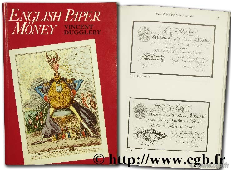English paper money DUGGLEBY V.