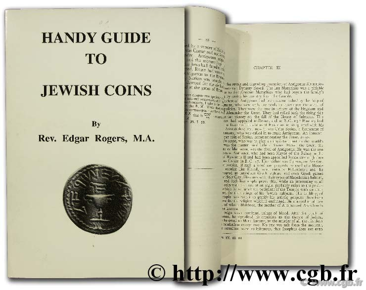 Handy guide to jewish coins ROGERS E.