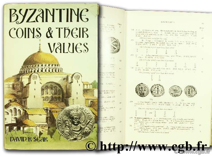Byzantine coins and their values SEAR D.-R.