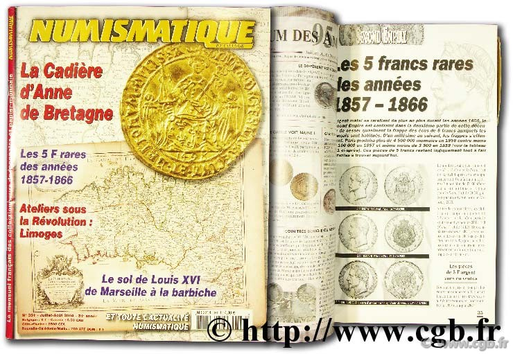 Numismatique et change 2004, n°351 NUMISMATIQUE ET CHANGE