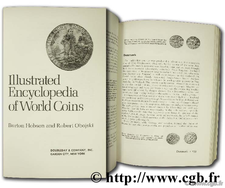 Illustrated encyclopedia of world Coins HOBSON B., OBOJSKI R.