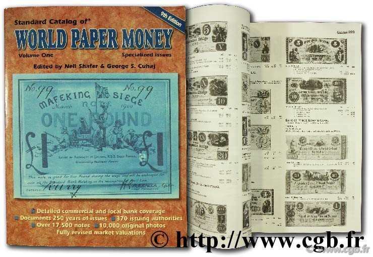 World paper money, specialised issues PICK A.