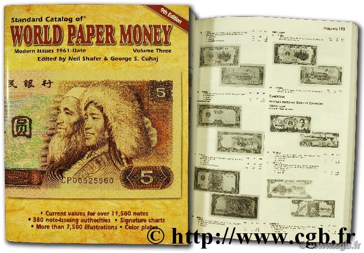 World paper money, modern issues 1961 - date PICK A.