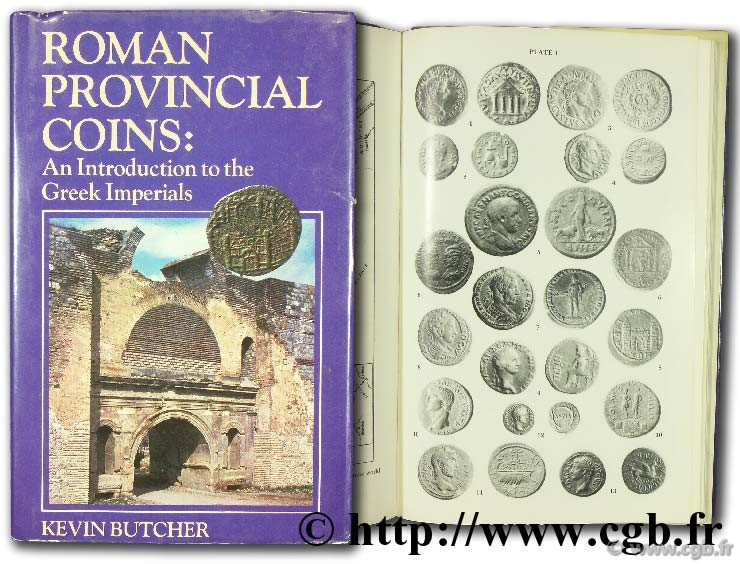 Roman provincial coins : an introduction to the Greek Imperials BUTCHER K.
