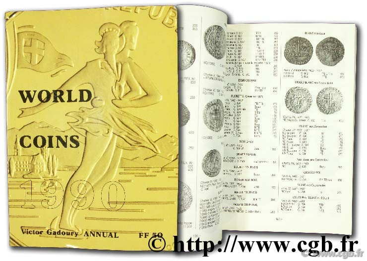 World Coins 1990 GADOURY V.