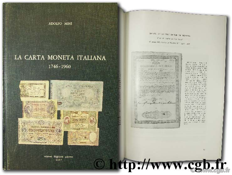 La carta moneta italiana (1746 - 1960) MINI A.
