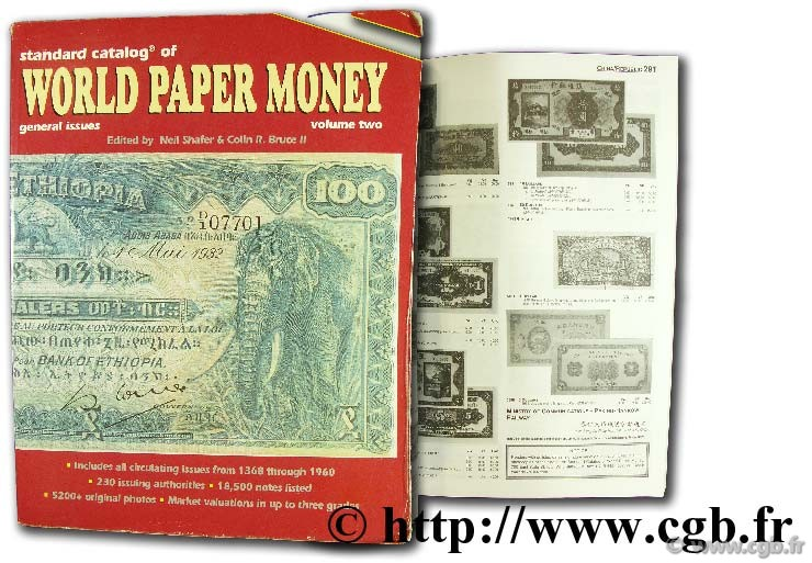 World paper money, general issues 1650 - 1960  PICK A.