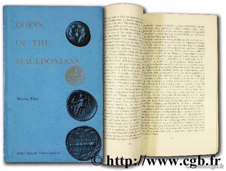 Coins of the Macedonians PRICE M.