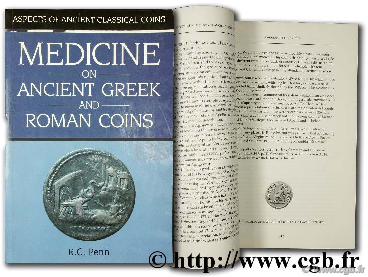 Medicine on ancient greek and roman coins PENN R.-G.