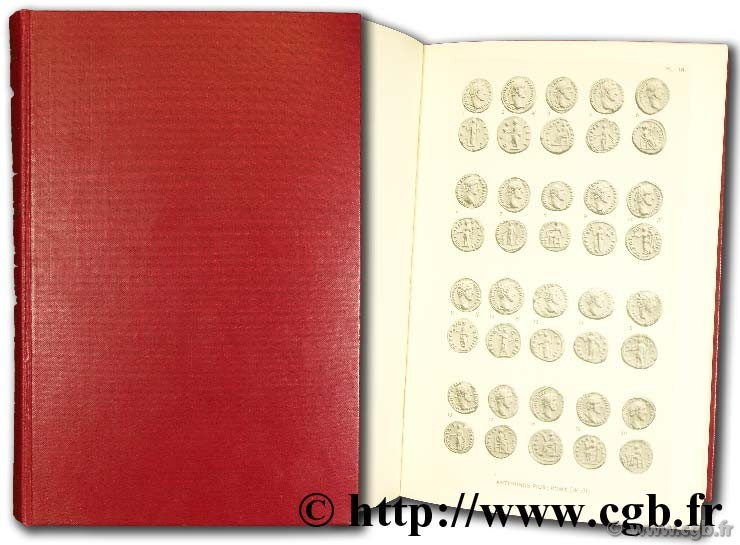 Coins of the roman empire in the British Museum, introduction, indexes, planches MATTINGLY H.