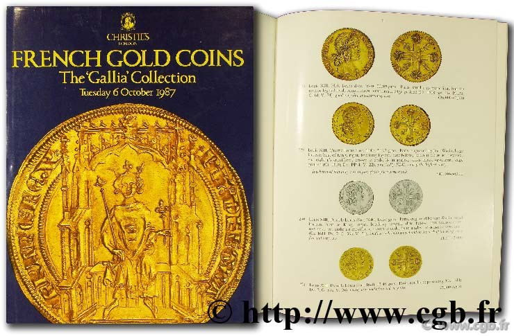 French gold coins,  the Gallia  collection CHRISTIE S