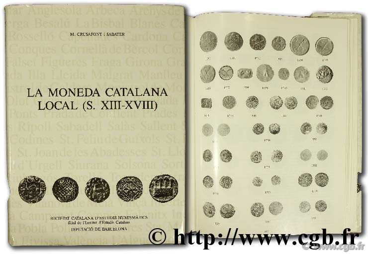 La moneda catalana local (s. XIII-XVIII) CRUSAFONT I., SABATER M.