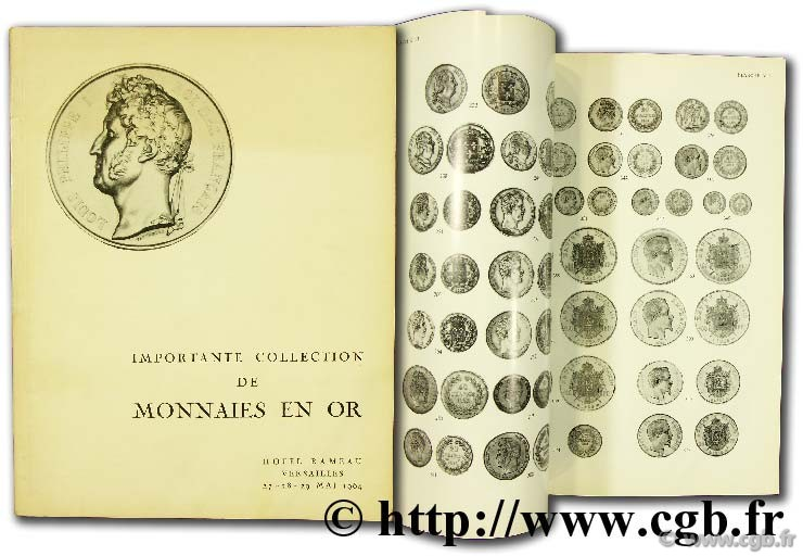 Importante collection de monnaies en or