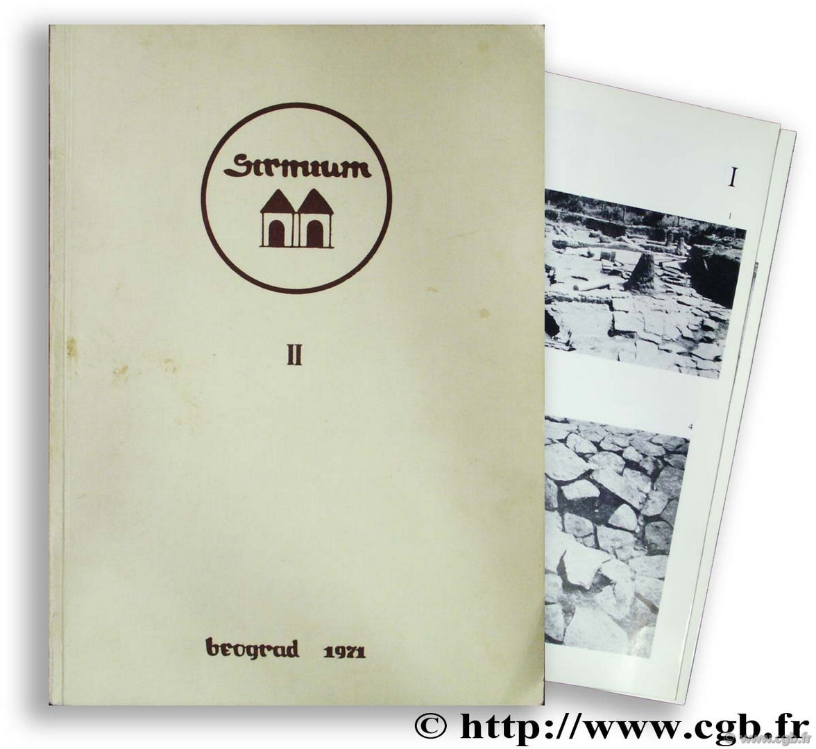 Sirmium II - Archaeological investigations in syrmian pannonia