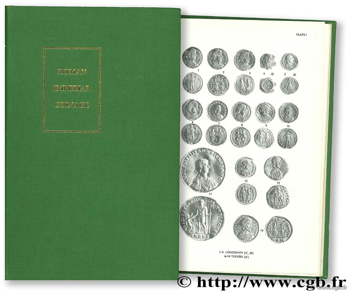 The Roman Imperial Coinage - the standard catalogue of Roman imperial coins, 9, Valentinien Ier à Théodose Ier (364 - 395) CARSON R.-A.-G., SUTHERLAND C.-H.-V.