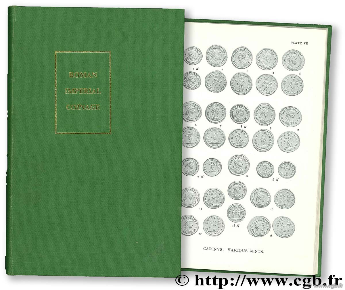 The Roman imperial coinage - the Standard catalogue of Roman imperial coins, 5-2, Probus à Amandus (276 - 284) MATTINGLY H., SYDENHAM E.-A.
